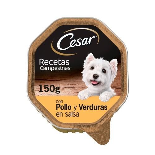 Tarrina Cesar Campesinas Pollo y verduras
