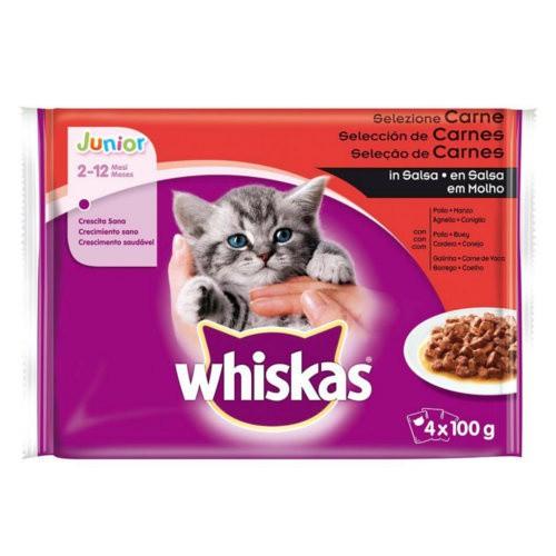 Whiskas Junior Multipack Selección de carnes
