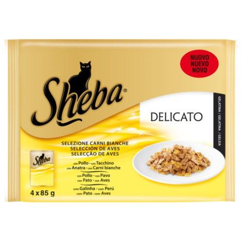 Sheba Delicato Selección de Aves en gelatina