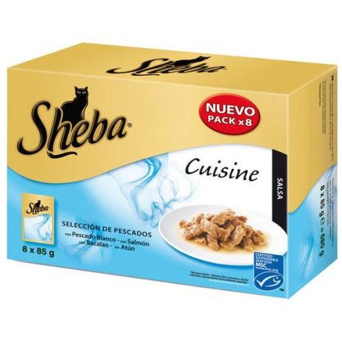 Sheba Cuisine Selección de pescados