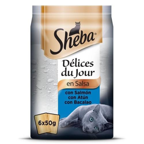Sheba Delices Du Jour Selección de pescados