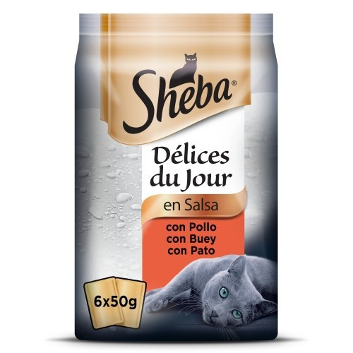 Sheba Delices Du Jour Selección de carnes