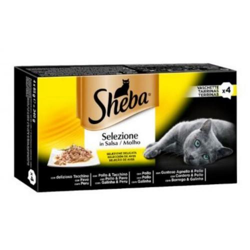 Pack Sheba Selezione Aves en salsa