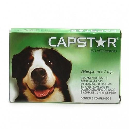 Tratamiento Antipulgas Capstar para perros grandes