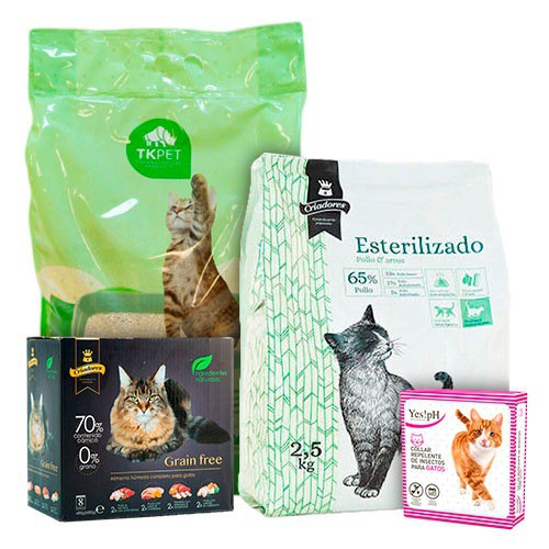 Megasave Pack for sterilised cats