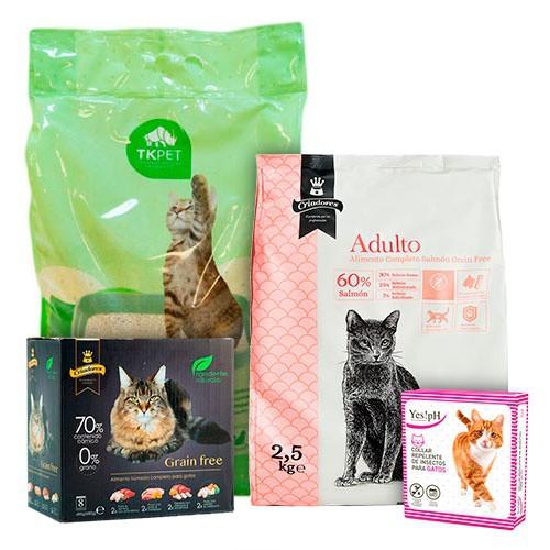 Chollopack grain free para gato