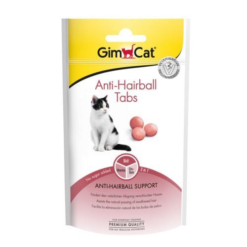 GimCat Anti-Hairball Tabs comprimidos de malta