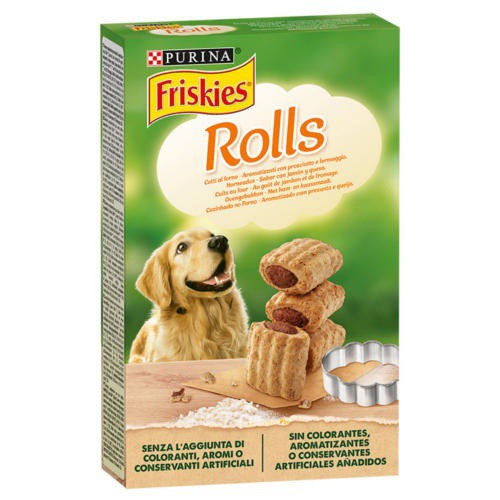 Dog biscuits Friskies Rolls