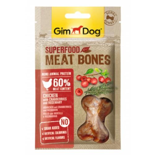 GimDog Bones Pollo con arándanos y romero