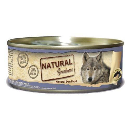Comida húmeda Natural Greatness Pescado de mar para perros
