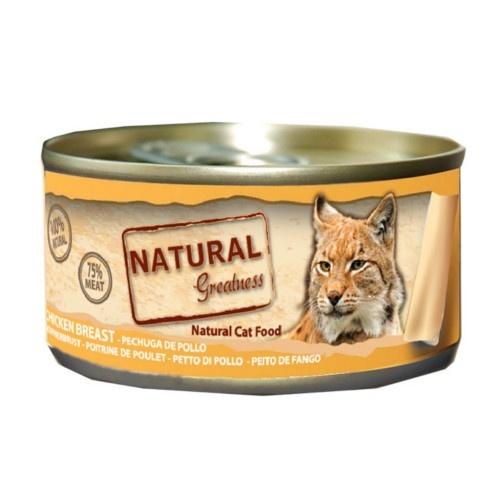Comida húmeda Natural Greatness Gama Classic para gatos