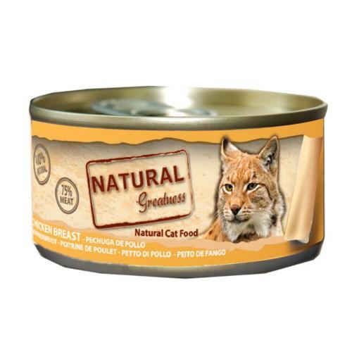 Natural Greatness Pechuga de pollo para gatos