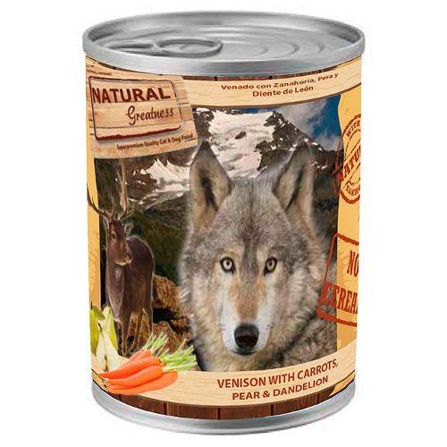 Natural Greatness Venado y zanahoria para perros