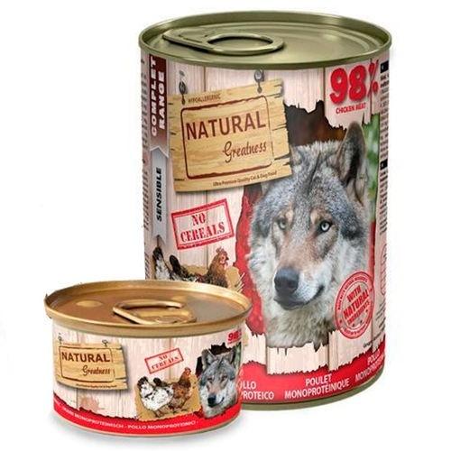 Comida húmeda Natural Greatness Pollo para perros