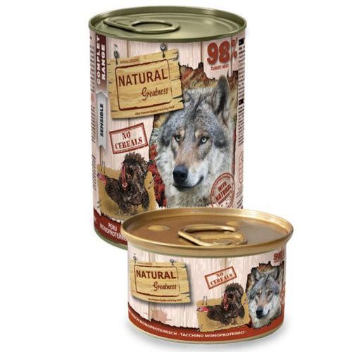 Natural Greatness Pavo para perros