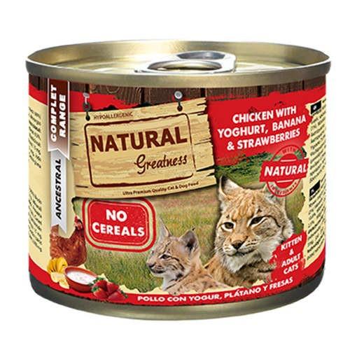 Natural Greatness Pollo y Yogur para gatos