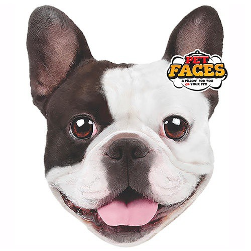Cojín TK-Pet Face Bulldog Francés