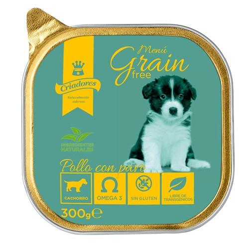 Criadores Menú Grain Free Puppy Pollo con pavo
