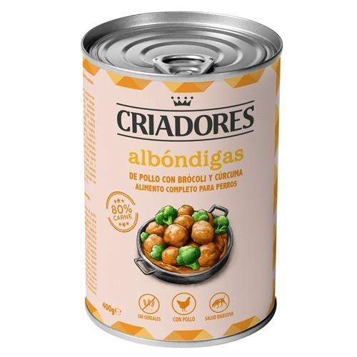 Criadores Albóndigas de pollo, brócoli y cúrcuma