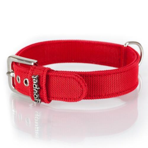 Collar NY rojo
