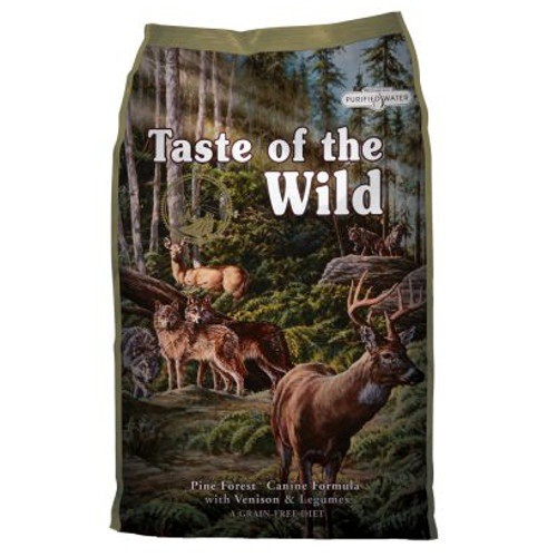 Taste of the Wild Pine Forest con Venado