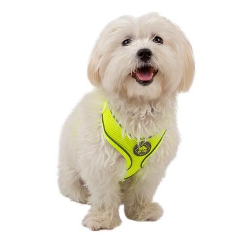 Arnés de alta visibilidad TK-Pet Soft amarillo