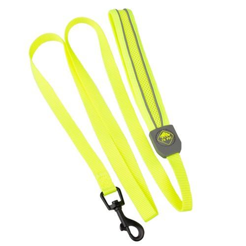 Correa de alta visibilidad TK-Pet Soft amarilla