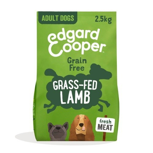 Pienso Edgard & Cooper Cordero fresco para perros