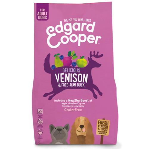 Pienso Edgard & Cooper Venado y Pato fresco para perros