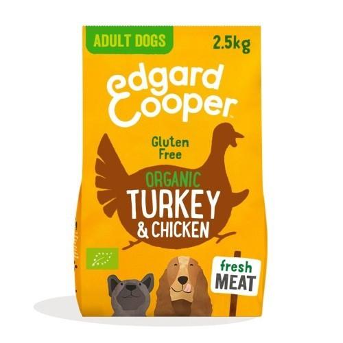 Pienso Edgard & Cooper Pavo y Pollo fresco Bio para perros