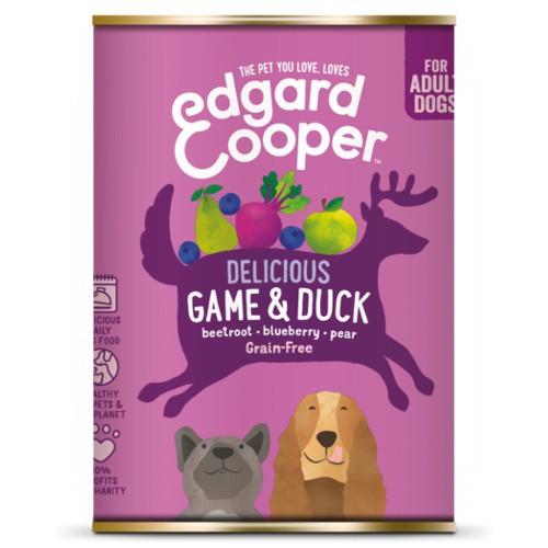 Lata Edgard & Cooper Venado y Pato para perros