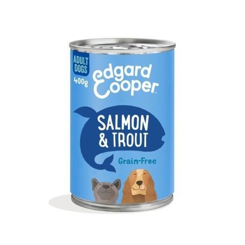 Lata Edgard & Cooper Salmón y Trucha para perros