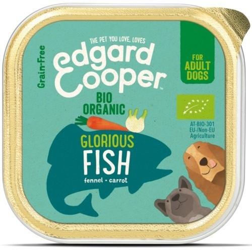 Tarrina Edgard & Cooper Pescado Bio para perros