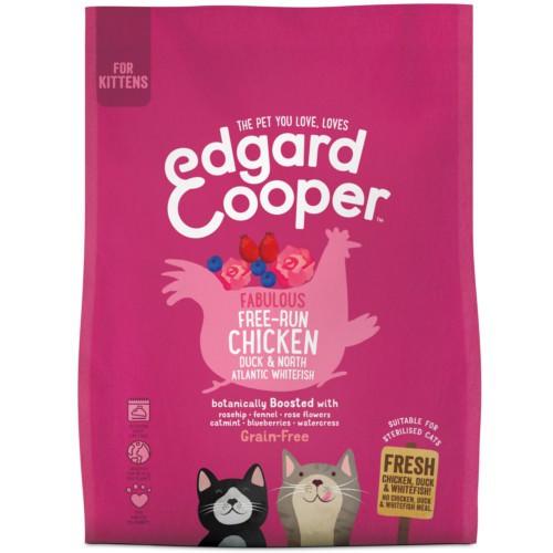 Pienso Edgard & Cooper Pollo, Pato y Pescado para gatitos