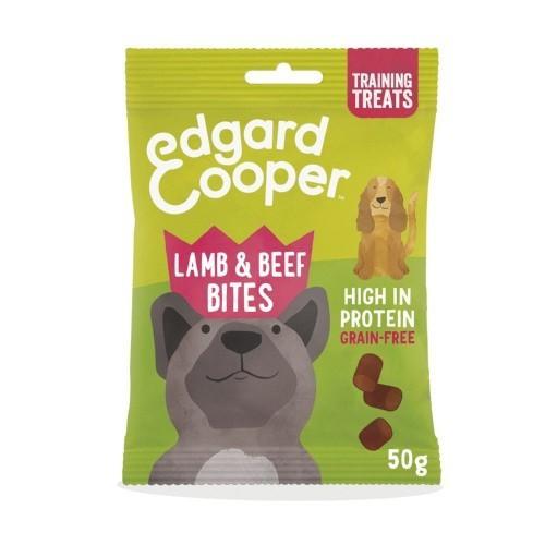 Bocaditos Edgard & Cooper Cordero y Vacuno para perros