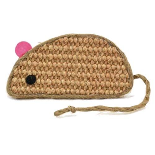 Ratón de sisal para gatos