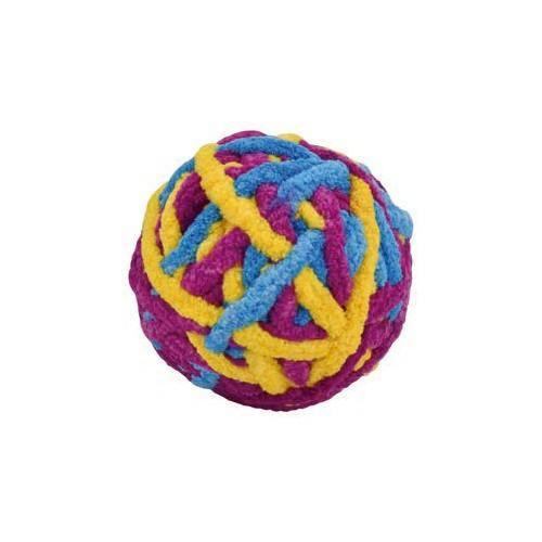 Pelota de lana de colores para gatos