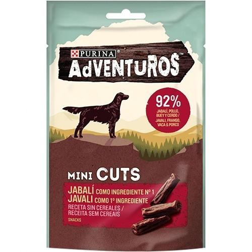 Snacks Purina Adventuros Mini Cuts Jabalí