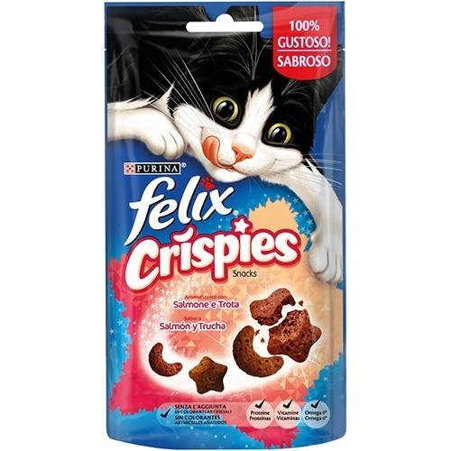 Snacks Felix Crispies Salmón y Trucha