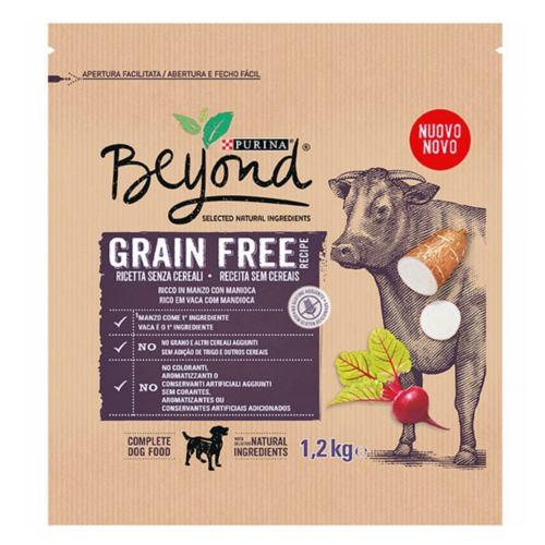 Pienso Purina Beyond Grain Free buey