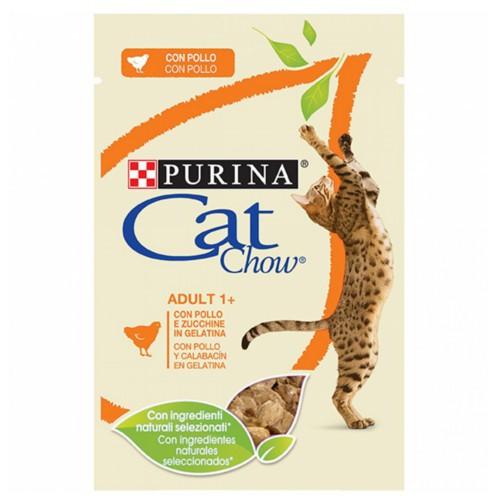 Purina Cat Chow pollo en gelatina para gatos
