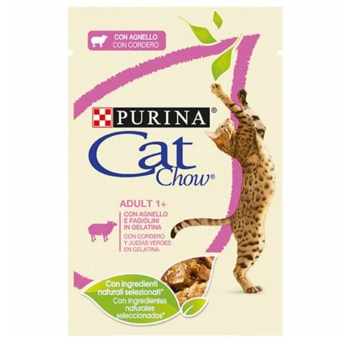 Purina Cat Chow cordero en gelatina para gatos