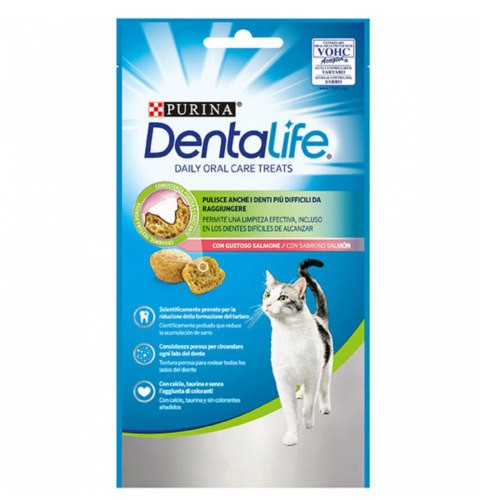 Purina Dentalife Daily Oral Care sabor salmón