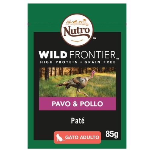 Paté Nutro Wild Frontier pavo y pollo para gatos
