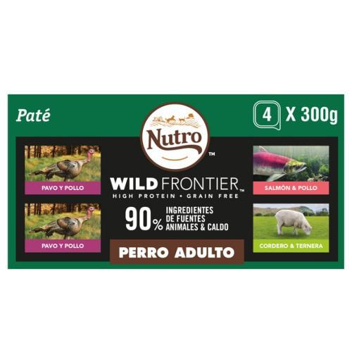 Multipack Paté Nutro Wild Frontier para perros