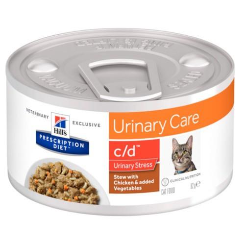 Hill's Urinary Care c/d Stress Estofado para gatos