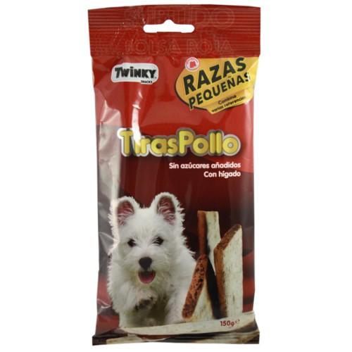 Tiras de Pollo Twinky para perros pequeños