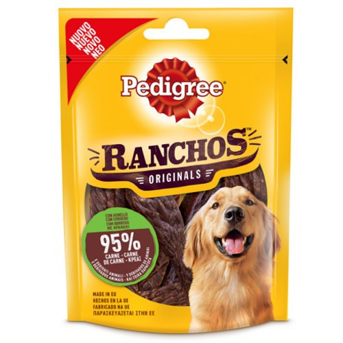 Snacks Pedigree Ranchos de cordero