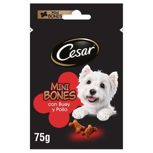Snacks Cesar Mini Bones con ternera y pollo