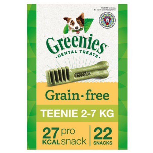 Hueso Greenies Grain Free Teenie razas toy